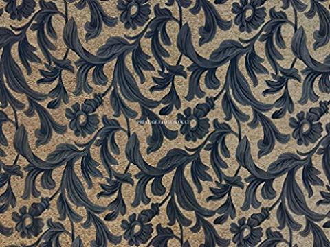PRESTIGE Tapestry Fabric Floral Flowers Designer Upholstery Fabrics Curtains/Cushions/Roman Blinds/Duvet
