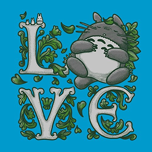 My Neighbour Totoro Love Womens Sweatshirt Sapphire