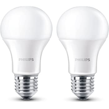 Philips 8718696491126 - Pack de 2 bombillas LED, luz blanca cálida, 6 W,