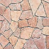 Mosaik Fliese Marmor Naturstein rot Bruch Ciot Rossoverona für BODEN WAND BAD WC DUSCHE KÜCHE FLIESENSPIEGEL THEKENVERKLEIDUNG BADEWANNENVERKLEIDUNG Mosaikmatte Mosaikplatte