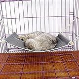 Keptfeet Cat Hammock Bed Pet Cage Hammock Hanging Bed for Cat Puppy Rabbit Small Animals
