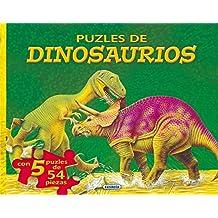 Puzles De Dinosaurios  1 (Libro Puzle De ...)