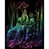 Royal & Langnickel - Lámina para grabado (20,3 x 25,4 cm), diseño de de mago, multicolor