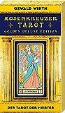 Rosenkreuzer Wirth Tarot - Der Tarot der Meister: Golden Deluxe Edition (22 Tarotkarten mit Booklet)
