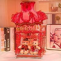 JIA&YOU Presa di fabbrica di ferro fumetto festivo creativo lampada da comodino 13 * 25 * 50 cm lampada camera da letto