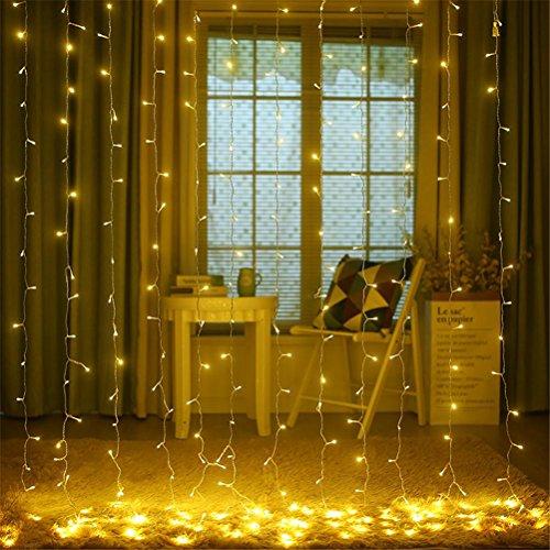 GUOPENGFEI Lichterketten Wasserdicht Kupfer Drahtfee Starry Lights Firefly Lights Warmweiß Gartenparty Weihnachtsbaum Außen Dekoration Schlafzimmer [Energieklasse A +], warm light, - Geld-baum Partei Für Die