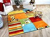 Lifestyle Kinderteppich Sunny Friends Orange Gelb in 3 Größen !!!
