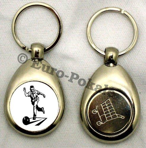 Schlüsselanhänger Sport Bowling Kegeln