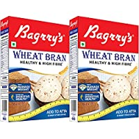 Bagrry's Wheat Bran Box, 500g - Pack of 2