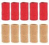 Set de 10 set de charnière pour basket-ball/panier de volleyball, rouge marron