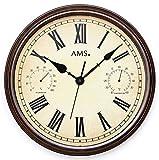 AMS 9484 orologio da parete giardino esterno stile antico resistente alle intemperie