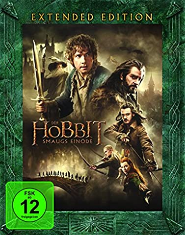 Der Hobbit: Smaugs Einöde Extended Edition [Blu-ray]
