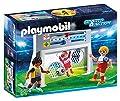 Playmobil - 6858 - Cage de tir au But avec footballeurs