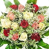 Bunter 'Geburtstag' Blumenstrauß - Bumo - inkl. gratis Grußkarte!