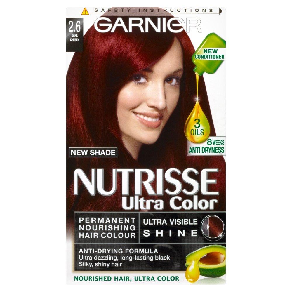 Garnier Nutrisse Ultra Color 2.6 Dark Cherry Red Permanent