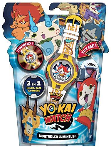 Canal Toys - CT06003 - Electronique/Montre - Yo Kai Watch - Montre LCD Lumineuse 3555804060035