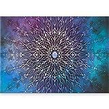murando - Papier peint adhesif Mandala 500x280 cm - Grand Format XXL - papier peint mural decoratif - cuisine et salon - feuille autocollante - tapisserie murale autocollante - Ornament f-A-0662-x-c