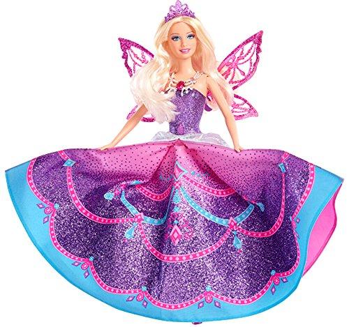 Barbie Mattel Y6373 - Mariposa Feenprinzessin, Puppe