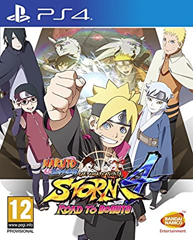 The Road To - NAMCO PS4 NARUTO SHIPPUDEN ULTIMATE STORM 4:
