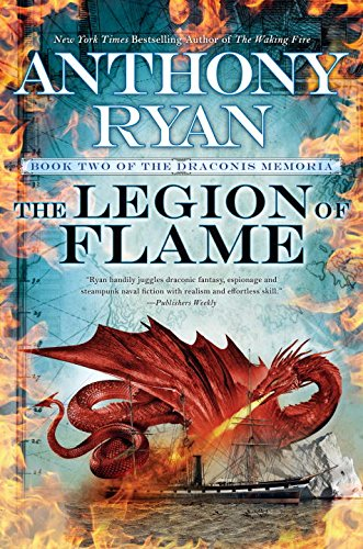The Legion of Flame (The Draconis Memoria, Band 2)