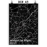 Mr. & Mrs. Panda Poster DIN A3 Stadt Wangen im Allgäu