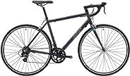 REID Unisex Adult Express Gunmetal XL Road Bike - Charcoal, 130 x 40 x 20