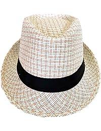 CLUB CUBANA Sombreros De Fedora Hawaiana para Hombres Mujeres Sombrero  Unisex De Fieltro Estilo Panamá Sombreros 1ee148cd10c
