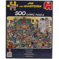 Jan van Haasteren -  Find The Mouse Puzzle (500 Pieces)