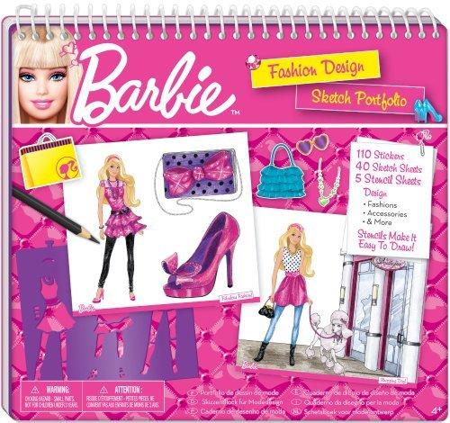 Barbie 22273 - Cuaderno de diseño de moda