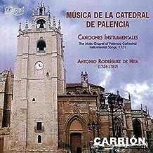 Antonio Rodríguez de Hita (1724-1787): Música de la Catedral de Palencia