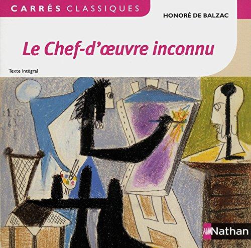 Le chef d'oeuvre inconnu par Honoré de Balzac