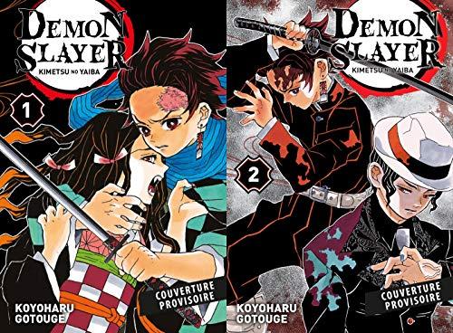 Demon Slayer: pack découverte (T01 acheté = T02 offert)