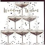 Belly Button Designs Glückwunschkarte zur Hochzeit mit Folienprägung und Kristallen. BB354