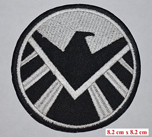S.H.I.E.L.D. AVENGERS New Marvel AGENTS OF SHIELD Iron-On Embroidered Patch - 2 badges by STICKERZZZ!!!