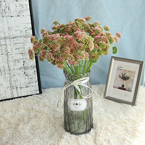 MDenker Löwenzahn Kunstblume Künstliche Blumen, Unechte Blumen,Elegant Seide Künstliche Rose Blumen für DIY Hochzeit Blumensträuße Braut Party