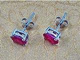 Women's Semi Preiouse Stone Stud Earring