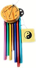 Paradigm Originals colorful Wind Chimes For Home Positive Energy Love Color Pipes Windchimes For Balcony Room Bedroom (Assured Good Sound) (Multi Pipe 7 Pipe, standard)