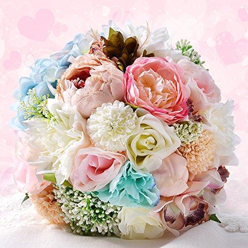 Bouquet de mariée, Pivoine Rose Bouquet de mariage Décoration de fête de mariage Fleur