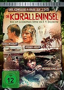 Die Koralleninsel - Die komplette 4-teilige Abenteuerserie nach dem gleichnamigen Roman von R. M. Ballantyne (Pidax Serien-Klassiker) [2 DVDs]