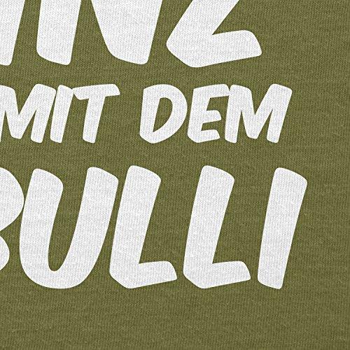 TEXLAB - Ein echter Prinz kommt mit dem T3 Bulli - Herren T-Shirt Oliv