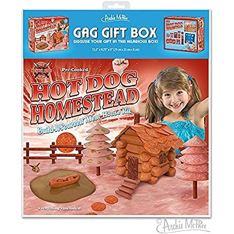 Hot Dog Homestead Joke Novelty GIFT BOX by Accoutrements