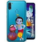 Fashionury Back Cover for Samsung Galaxy M11 (Silicone|Multi-Coloured)