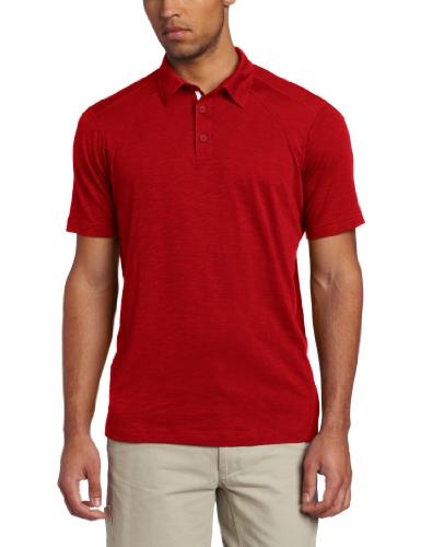 exofficio Herren EXO Java Tech Polo Short Sleeve Shirt Rogue