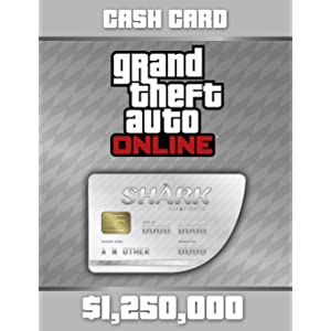 Grand Theft Auto Online | GTA V Whale Shark Cash Card | 3,500,000 GTA-Dollars