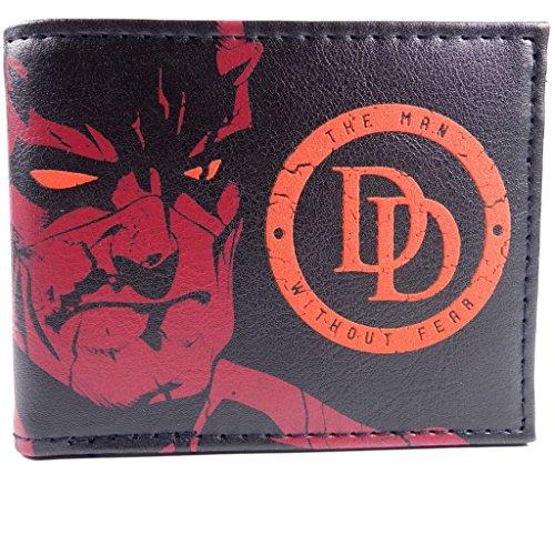Marvel Dare Devil Man without Fear Rosso portafoglio