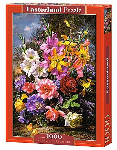 CASTORLAND A Vase of Flowers 1000 pcs 1000pieza(s) - Rompecabezas (Jigsaw Puzzle, Flora, Niños y Adultos, Niño/Niña, 9 Año(s), Interior)