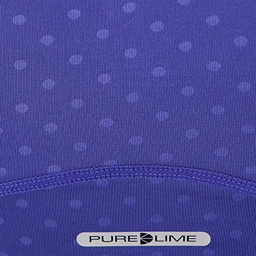 Pure Lime Women's Shadow Dot Canottiera - SS17 Purple