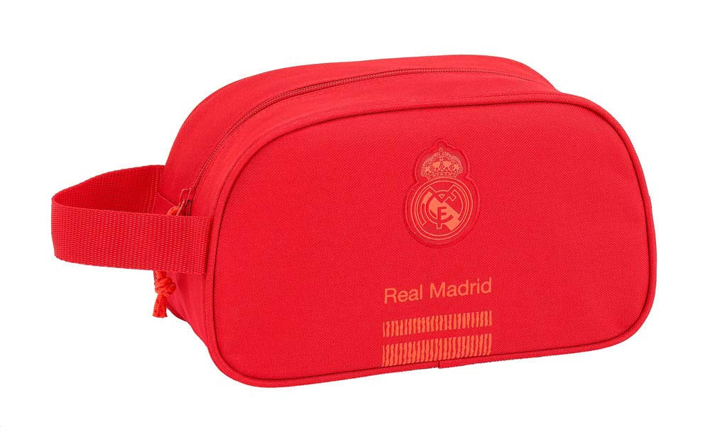 Real Madrid CF Neceser, Bolsa de Aseo Adaptable a Carro.