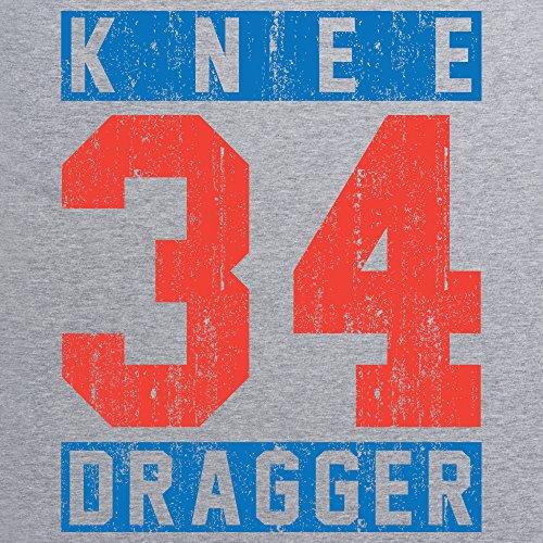 Knee Dragger 34 T-Shirt, Herren Grau Meliert