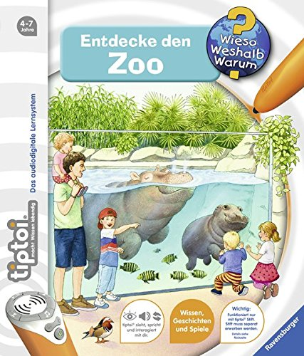 tiptoi® Entdecke den Zoo (tiptoi® Wieso? Weshalb? Warum?, Band 20) das Buch von Inka Friese - Preise vergleichen & online bestellen